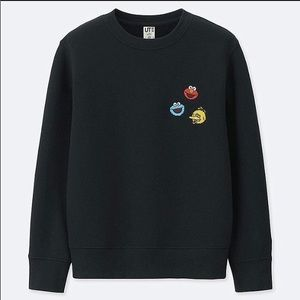 Kaws Uniqlo Sesame Street Kids Sweatshirt